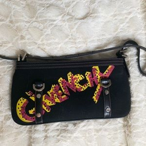 Rare Givenchy graffiti hand bag